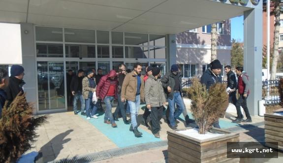 Karaman'da Aranan 7 Kişi Tutuklandı