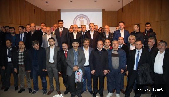Kalkınma Bakanı Elvan İstanbul'da Hemşerileriyle Buluştu