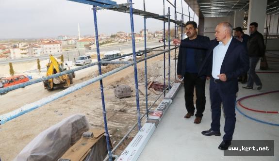 Seyir Terasları Karaman'ın En Gözde Mekanı Olacak