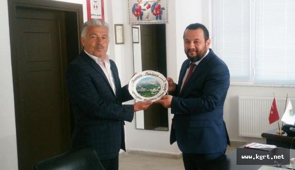 KMÜ Rektörü Akgül'den Ermenek Myo'da İnceleme