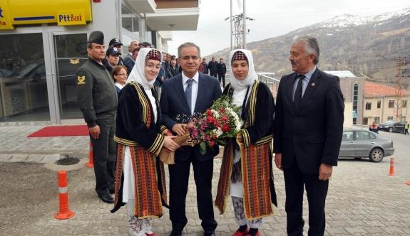 Vali Tapsız'a Başyayla'da Coşkulu Karşılama