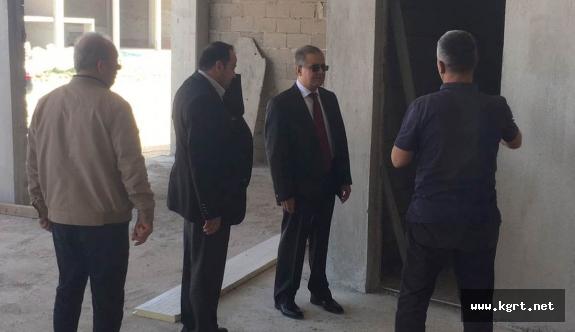 Vali Tapsız Orta Anadolu Küçük Sanayi Sitesinde İncelemelerde Bulundu