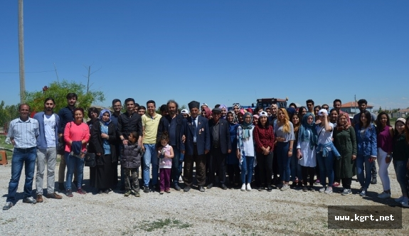 KMÜ Siyaset Bilimi Öğrencileri Çoğlu Köyü'nde