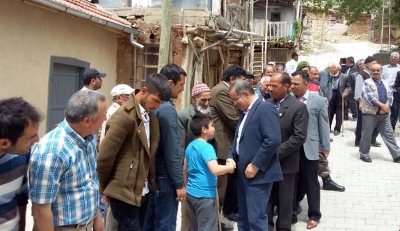 Yukarıakın Köyünde Şükür Ve Bereket Duası Yapıldı