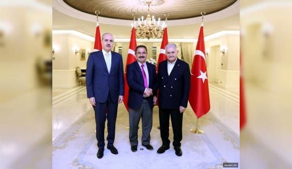 Başbakan Binali Yıldırım'dan Anadolu Kanallarına Müjde