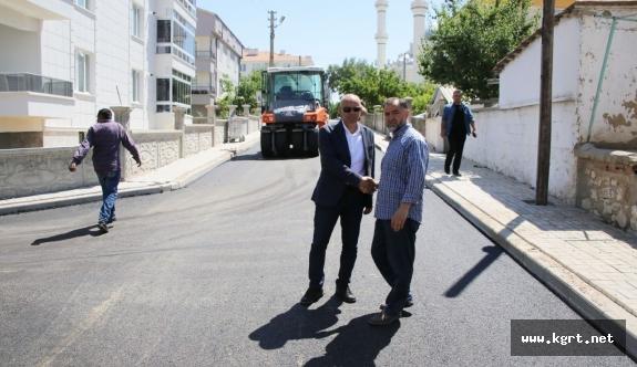 Başkan Çalışkan Osmangazi Mahallesi'ndeki Çalışmaları İnceledi