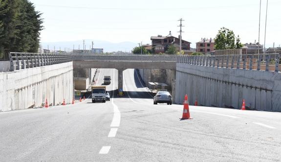Konya-Karaman Yht Hattında İki Alt Geçit Trafiğe Açıldı