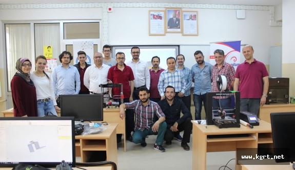 Mesleki Eğitimde 3 Boyutlu Yazıcı Sistemleri Eğitimi Tamamlandı
