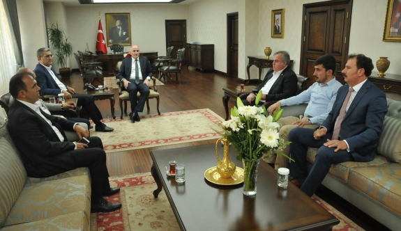 Milletvekilleri Konuk Ve Şeker'den Vali Meral'a Hayırlı Olsun Ziyareti