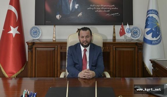 Rektör Akgül, LYS'ye Giren Adaylara Başarılar Diledi