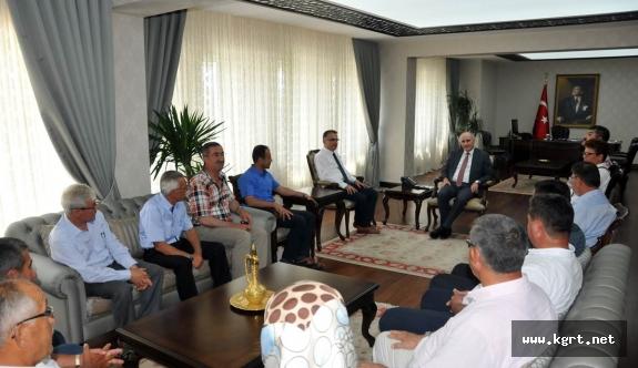 İl Genel Meclisi Başkanı Ve Üyelerinden Vali Fahri Meral'e Hayırlı Olsun Ziyareti