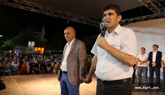 Ünlü: 15 Temmuz Türkiye'nin İkinci Kurtuluş Mücadelesinin Adıdır