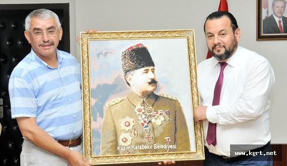 Belediye Başkanı Alanlı'dan Rektör Akgül'e Ziyaret