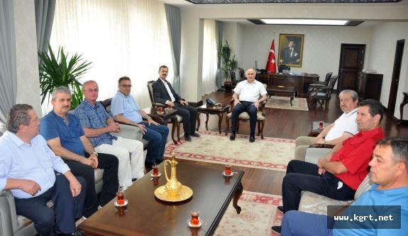 Hollanda Karamanlılar Federasyonundan Vali Meral'e Ziyaret