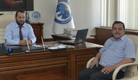 KYK Müdüründen Rektör Akgül'e Ziyaret