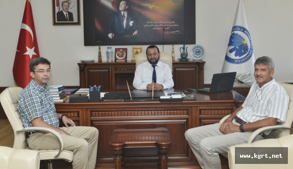 Rektör Akgül, Duru Bulgur Yönetim Kurulu Başkanını Kabul Etti