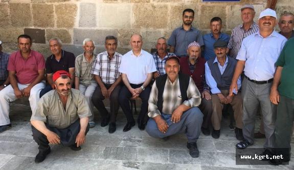 Vali Meral, Tarihi Fisandun Camisini Gezdi