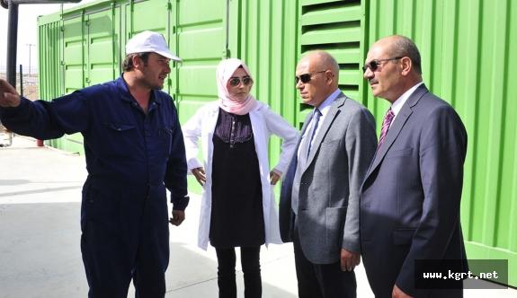 Çalışkan: Günlük 2500 Hanenin İhtiyacı Olan Elektriği Üretiyoruz