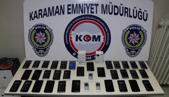 Çok Sayıda Kaçak Telefon Ele Geçirildi