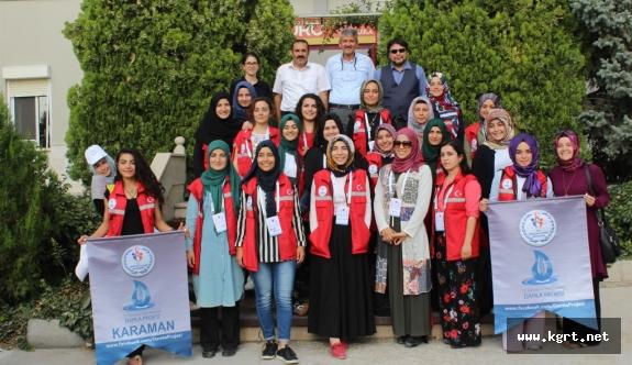 'Damla Projesi' Gençlerinden Duru Bulgur'a Ziyaret
