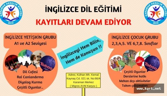 Dil Eğitimi Kayıtları Devam Ediyor