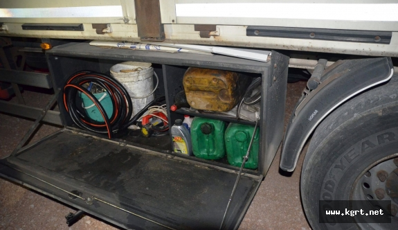 İş Makinelerinden Mazot Çalan Şahıs Tutuklandı