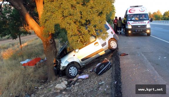 Konya Yolundaki Kazada 2 Kişi Hayatını Kaybetti