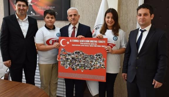Özel Karaman Başarı Ortaokulu'ndan Kuntoğlu'na Ziyaret