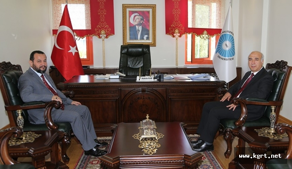 Rektör Akgül'den Niğde Rektörüne Hayırlı Olsun Ziyareti