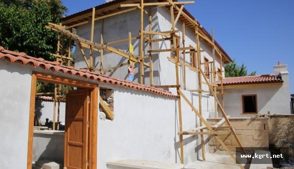 Tarihi Nalıncılar Evi'nde Restorasyon Çalışmaları Devam Ediyor