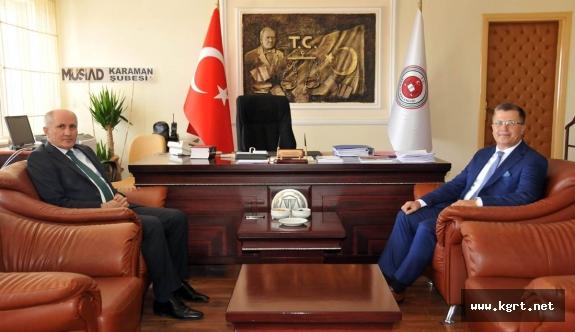 Vali Meral, Başsavcı Turan'ı Ziyaret Etti