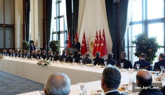 Cumhurbaşkanı Recep Tayyip Erdoğan, Valileri Kabul Etti
