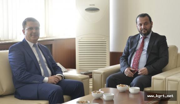 Cumhuriyet Başsavcısı Hikmet Turan'dan Rektör Akgül'e İade-i Ziyaret