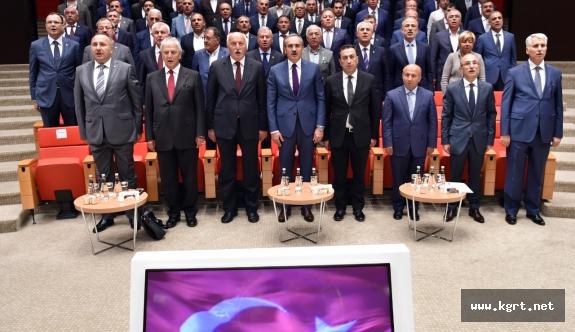 Karaman Ticaret Borsası Oda Borsa İstişare Toplantısına Katıldı