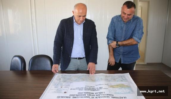 Karaman'da Yeni Çevre Yolunda Çalışmalar Devam Ediyor