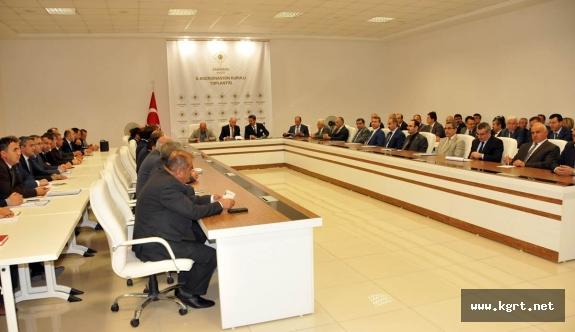 Yılın Son Koordinasyon Kurulu Toplantısında Yatırımlar Değerlendirildi