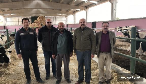 Bozkandak Köyüne KOP'tan Yeni Ahır İnşaatı İçin %50 Hibe