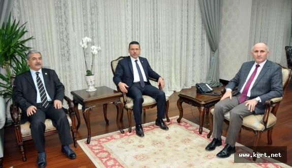 Sayıştay Başkanından Vali Meral'e Ziyaret