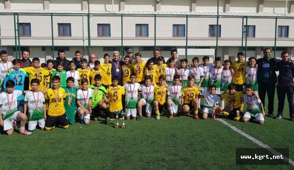 U14 Ligi Şampiyonu Başak Spor Oldu