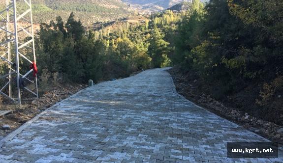 Ermenek'te İskeleye Ulaşım Artık Daha Kolay