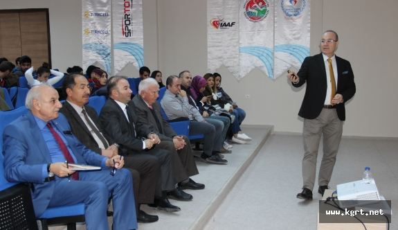 IAAF Çocuk Atletizmi Projesi Semineri Karaman'da Yapıldı