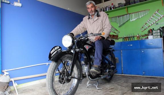 İkinci Dünya Savaşını Görmüş Motosiklet, Hala O Günkü Gibi Çalışıyor