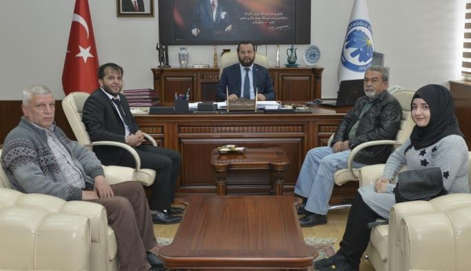 Avukat Ramazan Eryiğit'ten Rektör Akgül'e Ziyaret