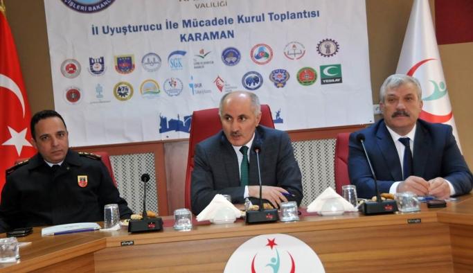 Bağımlılıkla Mücadele İl Koordinasyon Kurul Toplantısı Yapıldı
