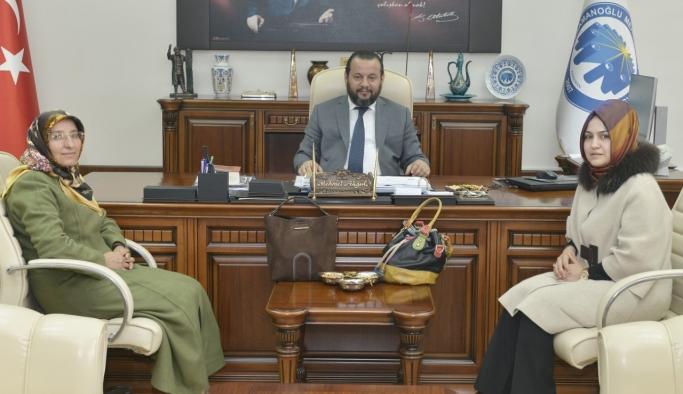 KADEM'den Rektör Akgül'e Ziyaret