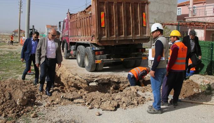 Karaman'da Doğalgaz Çalışmalarının % 95'lik Kısmı Tamamlandı