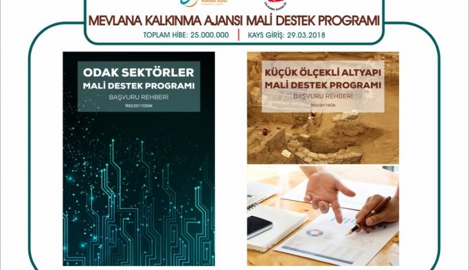 MEVKA'nın Mali Destek Programlarına Başvurular 29 Mart'ta Sona Eriyor