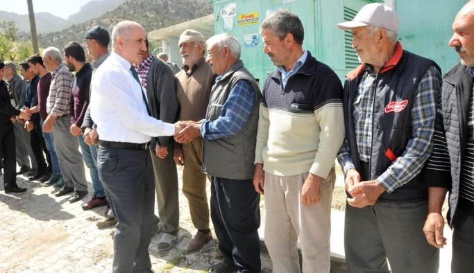Vali Meral Köy Ziyaretlerini Sürdürüyor