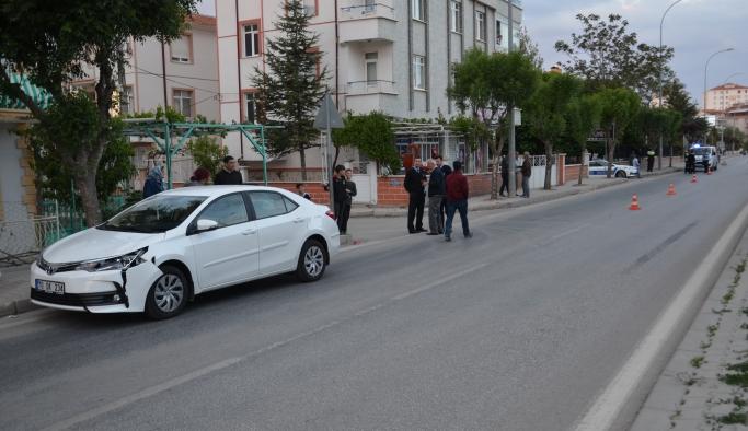 Karaman'da Trafik Kazası: 1 Yaralı