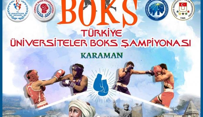 Karaman, Üniversiteler Arası Boks Şampiyonasına Ev Sahipliği Yapacak